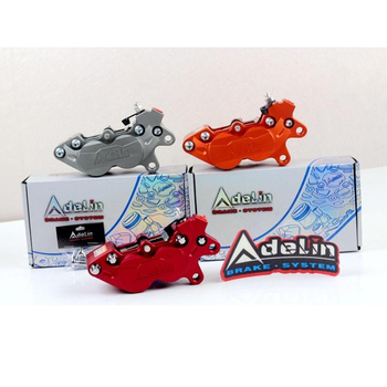 Original Motorcycle universal modification four piston ADL-7 HF6/F101 Brake calipers For BWS RSZ CNC rear brake motorcycle parts