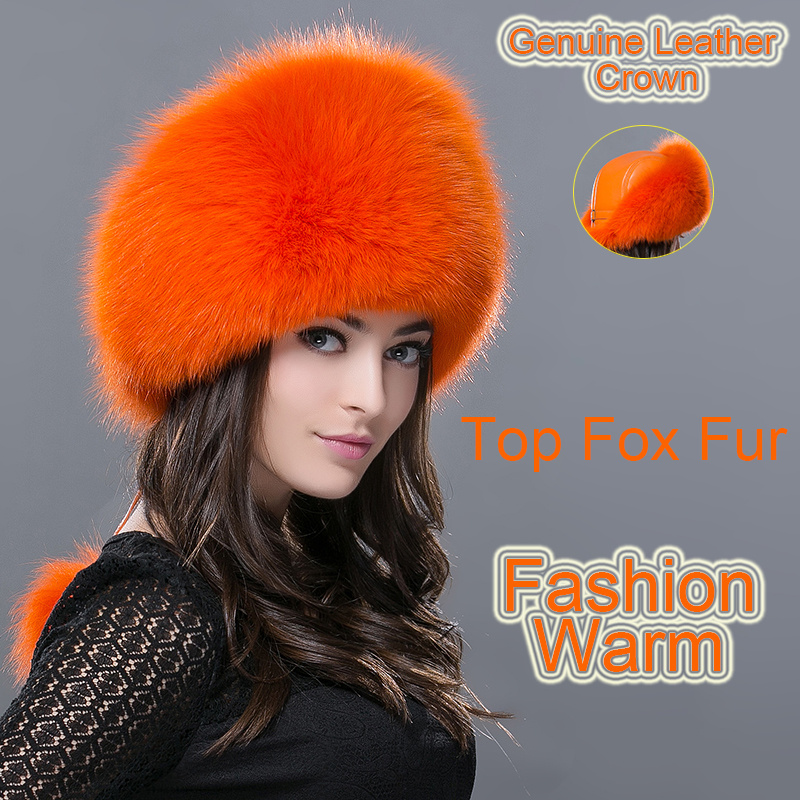 New Russia fur hat Parent-child winter women warm fox fur hat female raccoon fur genuine leather hat top earmuffs fur hats caps spring autumn sexy nightclub women pumps shallow mouth pointed side hollow stone pattern 10 cm fine high heels shoes