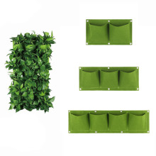 Small Wall Mount Hanging Planting Bags Home Supplies Multi Pockets DIY Grow Bag
