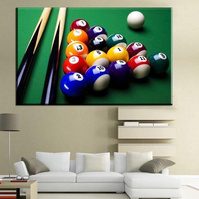 xdr680 Modern Wall Art fashion American billiards snooker art Canvas ...