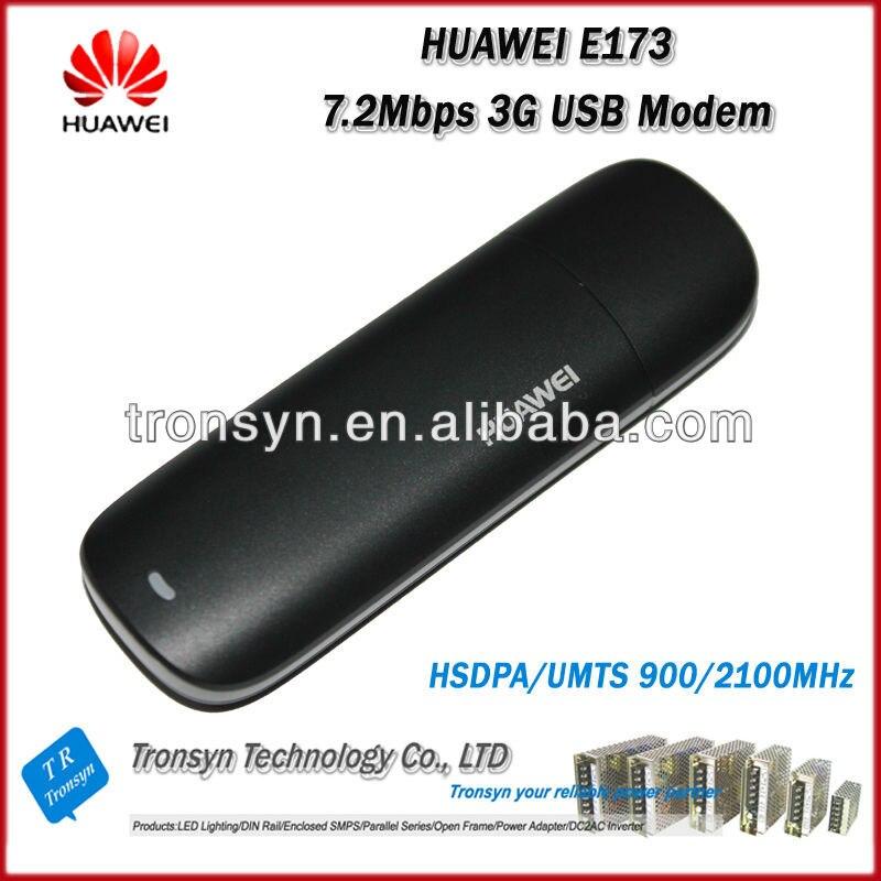 Novo Original Desbloqueado HSDPA 7.2 Mbps HUAWEI E173 3G Modem USB E 3G Dongle USB Com O Cartão Sim slot
