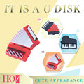 Acordeón Piano pen drive 64 gb 4G usb flash drive 8G Instrumento Musical 16G stick usb lindo pendrive 32G usb stick Freeshiping