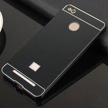 For Xiaomi Redmi 3S Case Aluminum Metal Bumper PC Back Cover Case For Xiaomi Redmi 3 S Pro / Redmi 3S Pro Phone Cases Capa Coque