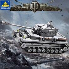 цены 1193pcs KAZI Building Block set Compatible with Lego German military tank Bricks Boy's Christmas Gift playmobil toys educational