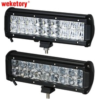 9 5 Inch 90W 4D LED Work Light Bar For Tractor Boat OffRoad 4WD 4x4 Truck