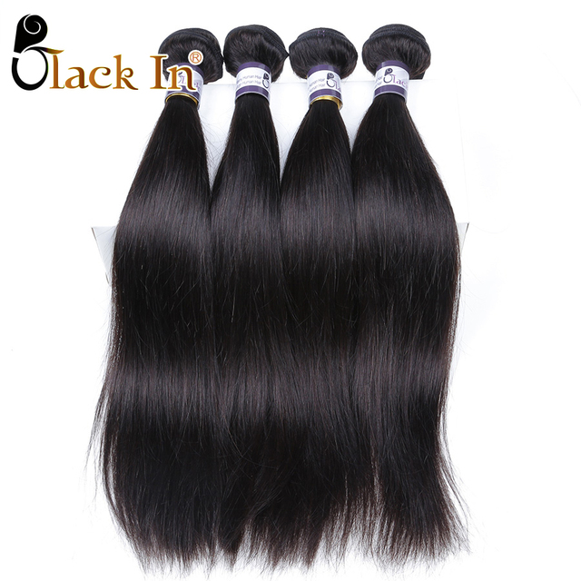 Raw Indian Straight Virgin Hair 4 Bundles Aliexpress India Remy Hair