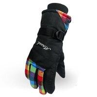 Luva Unisex Ski Gloves Snowboard Gloves Motorcycle Riding Snow Windstopper Outdoor Full Finger Winter Sport Glove