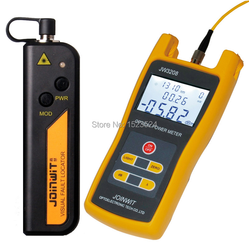 Free Shipping JW3208A Handheld Optical Power Meter with JW3105N Visual Fault Locator 10mwFree Shipping JW3208A Handheld Optical Power Meter with JW3105N Visual Fault Locator 10mw
