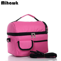 High Quality Cooler Bag Hot Food Insulation Bag Ice Beverages Storage Pouch Sports Leisure Outdoor Picnic