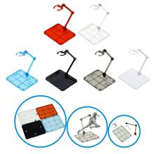 цена на Clear Action Figure Holder Display Stand Base for HG RG SD SHF Gundam Model Toy Puzzles Assembly Model Home decorations