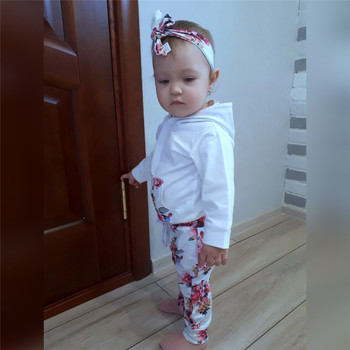 Baby's Winter Cotton Hooded Tracksuit 5