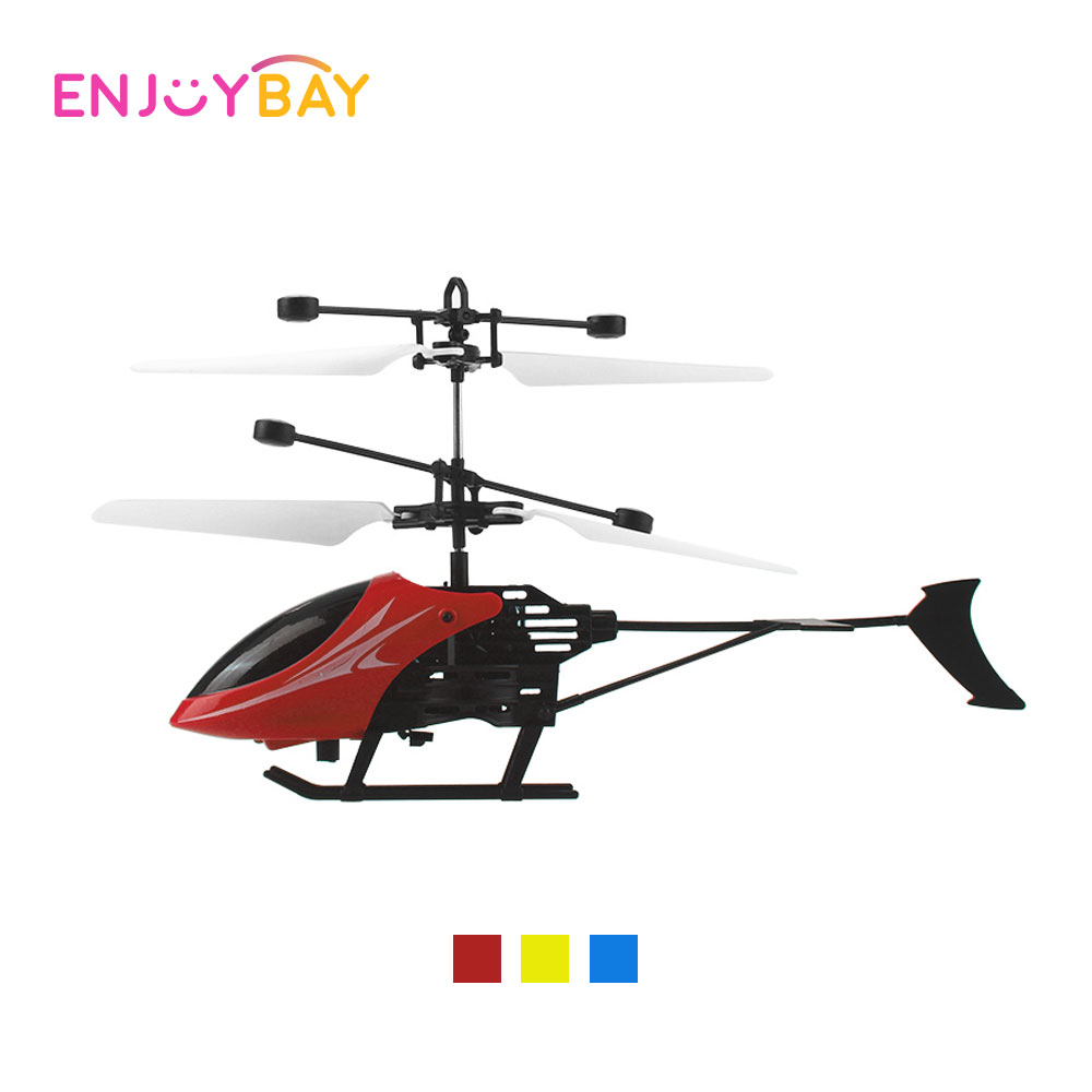 Enjoybay Infrared Induction RC Helicopters Remote Control Flying Aircraft Electronic Charging Plane Model Toys Helicopter Toys hogan 1 400 ana 787 8 ja804a aircraft model aircraft flying dream ana