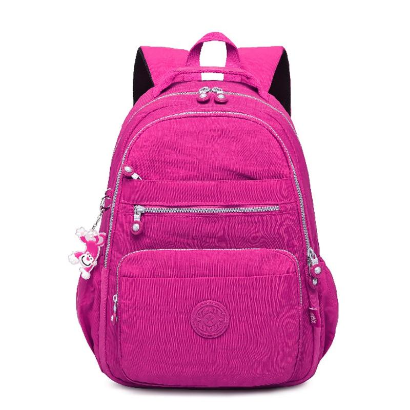 Tegaote School Backpack For Teenage Girl Mochila Feminina Kipled Women Backpacks Nylon Waterproof Casual Laptop Bagpack Female #2