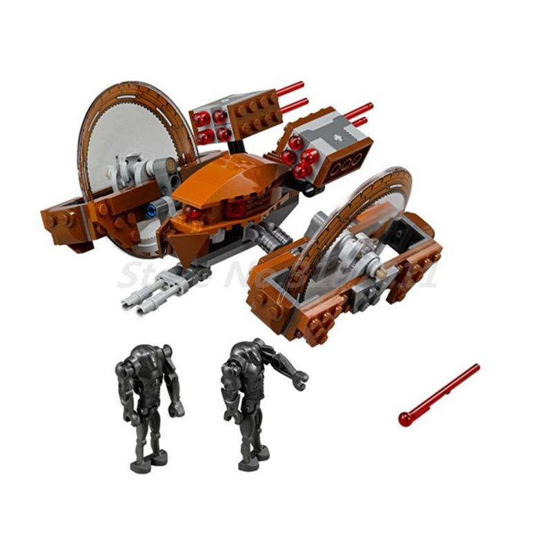 BELA 10370 Building Blocks Sets Star Wars Attack Of Clones Hailfire Droid Exclusive Bricks Toys For Children Learning Gifts the quality of accreditation standards for distance learning