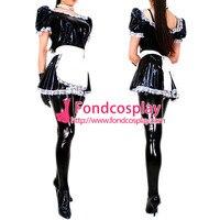 Sexy Sissy Maid Dress Vinyl Pvc Dress Maid Uniform Cosplay Costume Custom Made