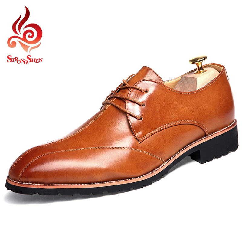 ФОТО 2017 New men's flat Leather shoes fasion casual shoes men spring autumn summer men's casual shoes free shoes size:38-43