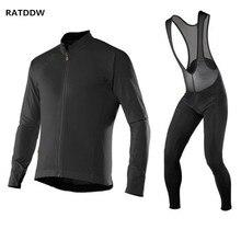 Pro Для мужчин зимние Велосипедная форма Ciclismo Майо Термальность флис Велоспорт Джерси MTB велосипеда Велосипедный спорт куртка на зиму