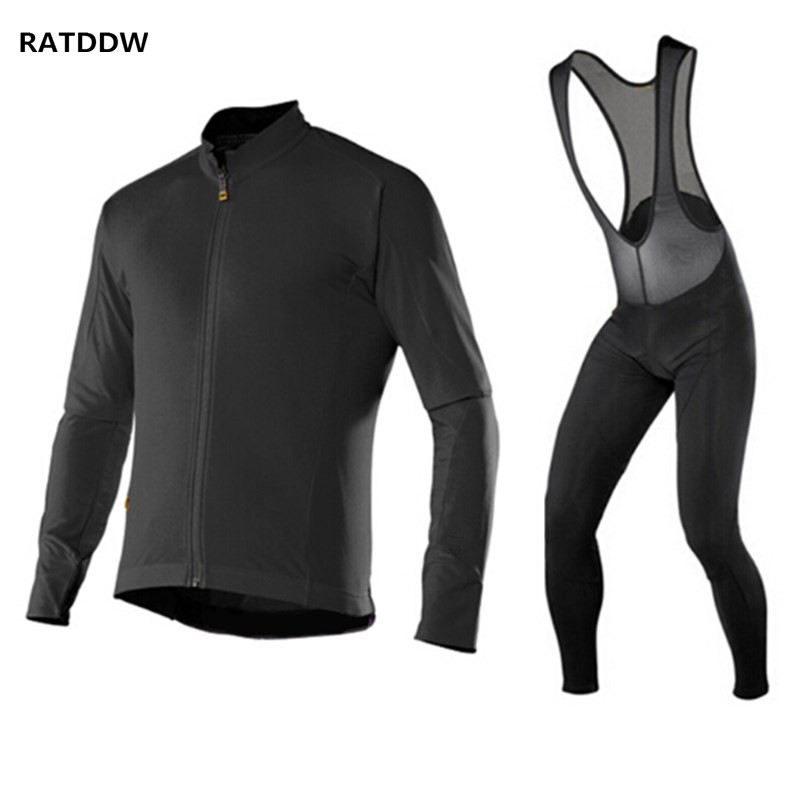Pro Men Winter Cycling Clothing Ciclismo Maillot Thermal Fleece Cycling Jersey MTB Bike Bicycle Jacket For Winter