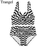 Trangel Bikini High Waist Swimsuit Sexy Bikini Rainbow Bikini Push Up Swimwear Vintage Bathing Suit Biquini
