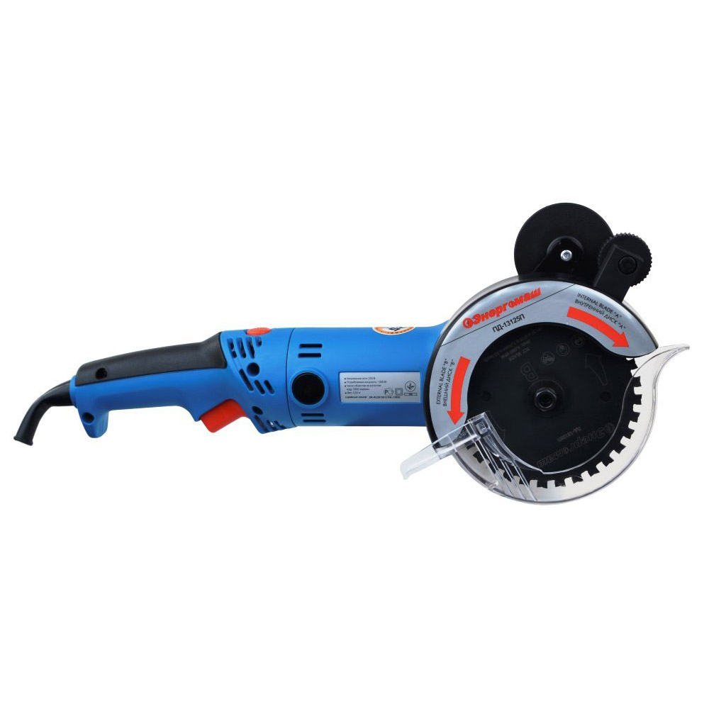 Circular saw with two discs Energomash PD-13125P