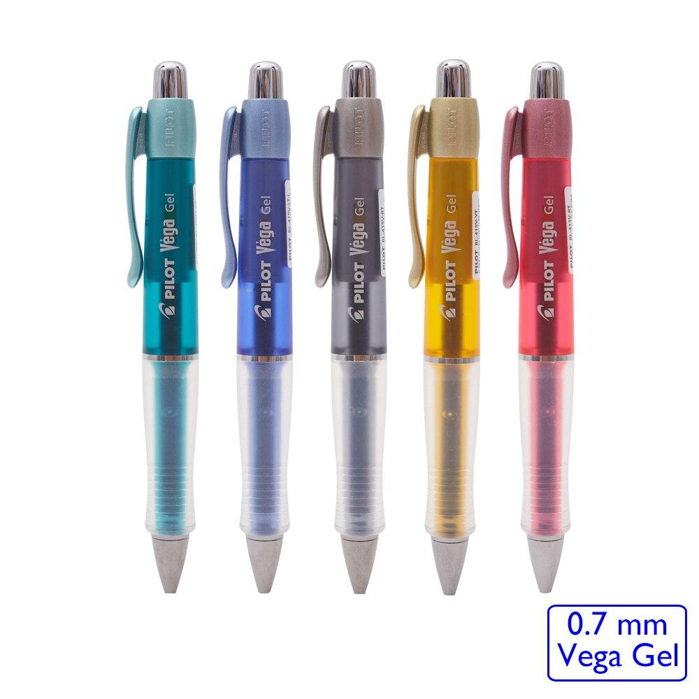 Japan Pilot Antifatique Gel Pen Vega 0.7 mm Sign Pen For Calligraphy BL-415V-RT japan pilot hi tecpoint v5rt gel pen test pen tip 4 color 5pcs