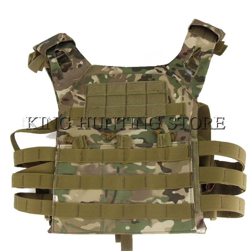 Tactical Vest Multifunction Combat Vest CS Camouflage Training Breathable JPC Field Operation Protect Hunting Equipment