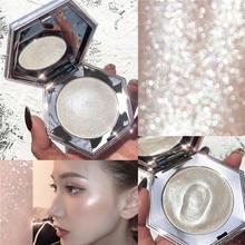 › Bronzeadores faciais paleta de maquiagem 3dface contorno, brilhoso, base corporal, iluminador, cosméticos