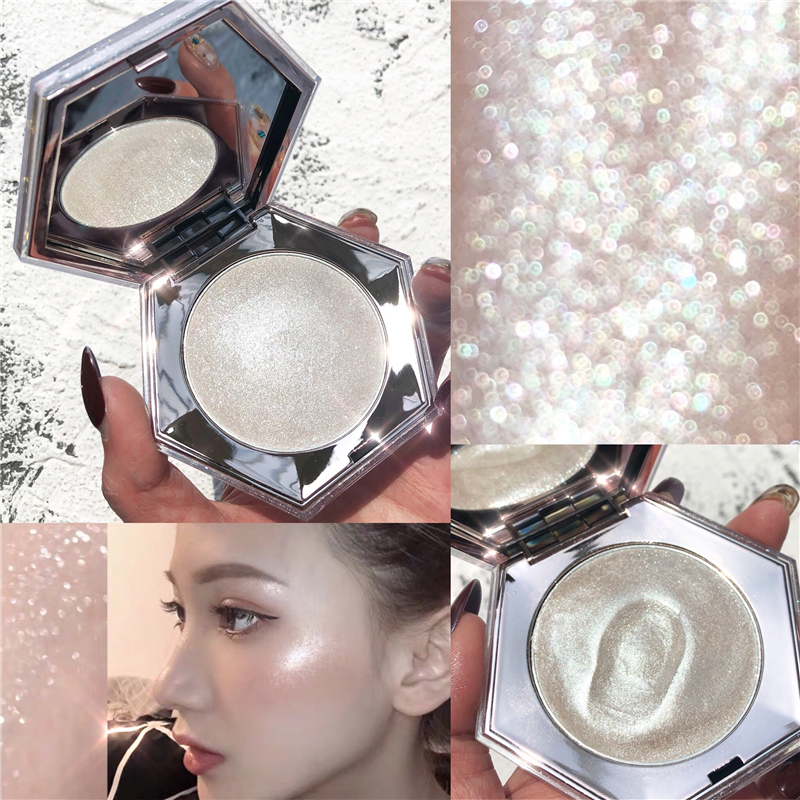 GUICAMIHighlighter Gesichts Bronzer Palette Make-Up Glow Kit Gesicht Contour Shimmer Pulver Körper Basis Illuminator Highlight Kosmetik
