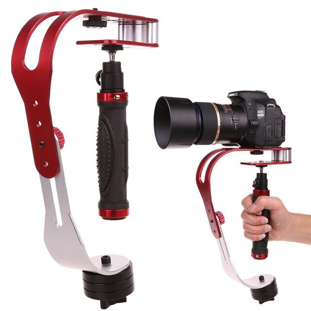 Ręczny stabilizator wideo stabilizator aparatu Steadicam do aparatu Canon Nikon Sony Gopro Hero telefon DSLR DV DSL 04