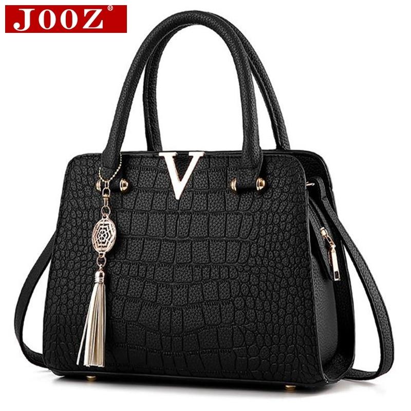 Fashion Alligator leather font b women b font handbags famous designer brand font b bags b