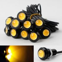 10x 9W 12V 24V 18MM LED Eagle Eye Light Car Fog DRL Daytime Reverse Parking Signal