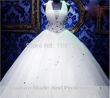 free shipping 2014 new handmade flowers victoria dress custom size/color bridal gown one shoulder plus size white wedding dress