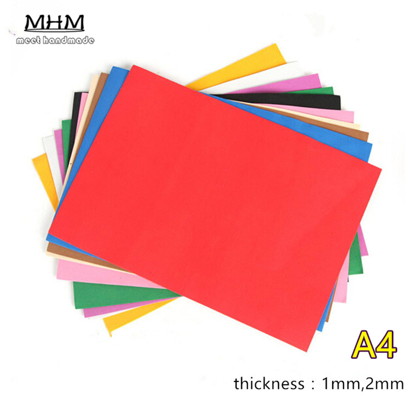 mixed a stcke handwerk papier eva schwamm schaum papier fr blumen hintergrund diy geschenk