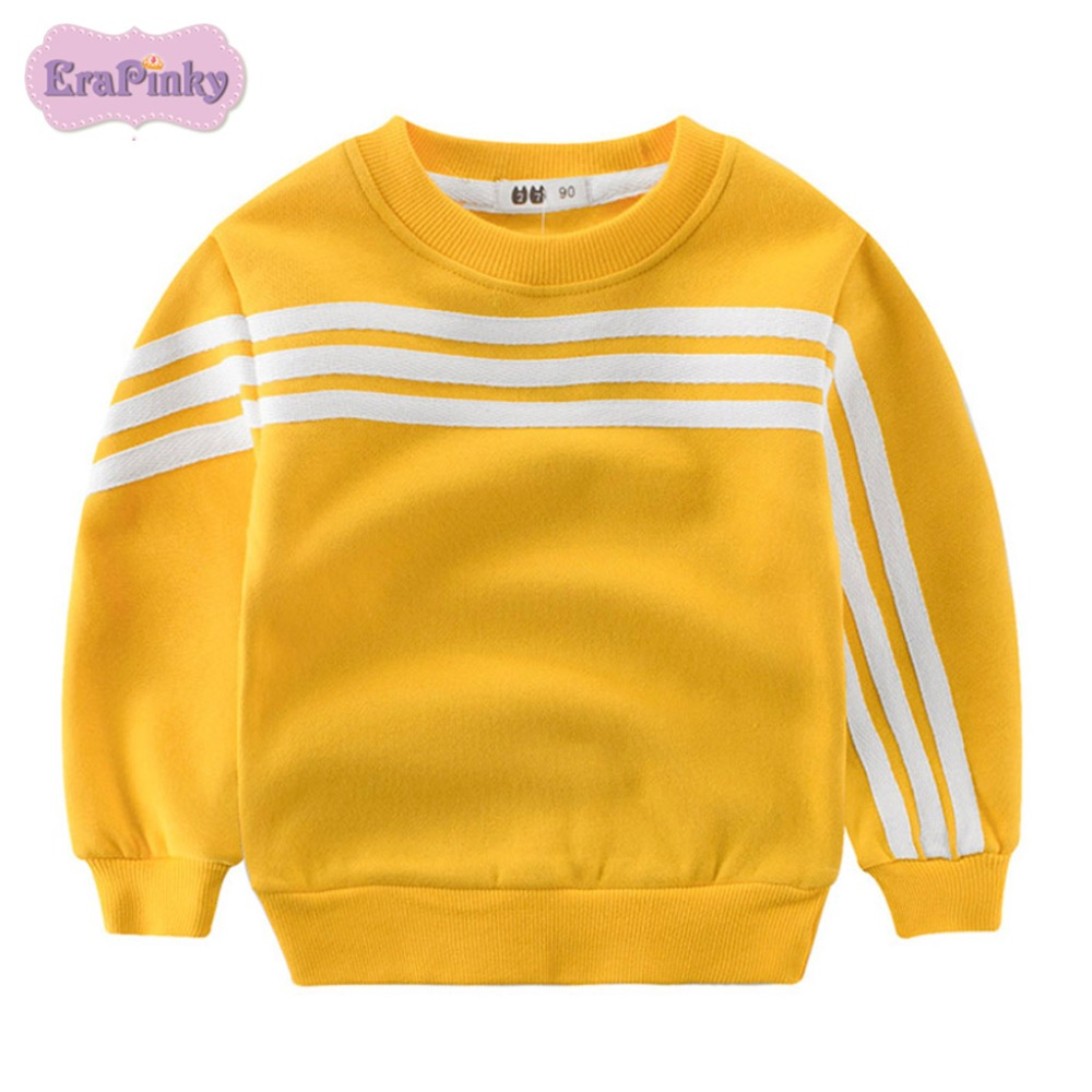 все цены на Erapinky 2018 Boho Choses Winter Sweatshirt For Kids Boys Girls Long Sleeve Striped Thick Sweaters Warm Tops Children Clothes
