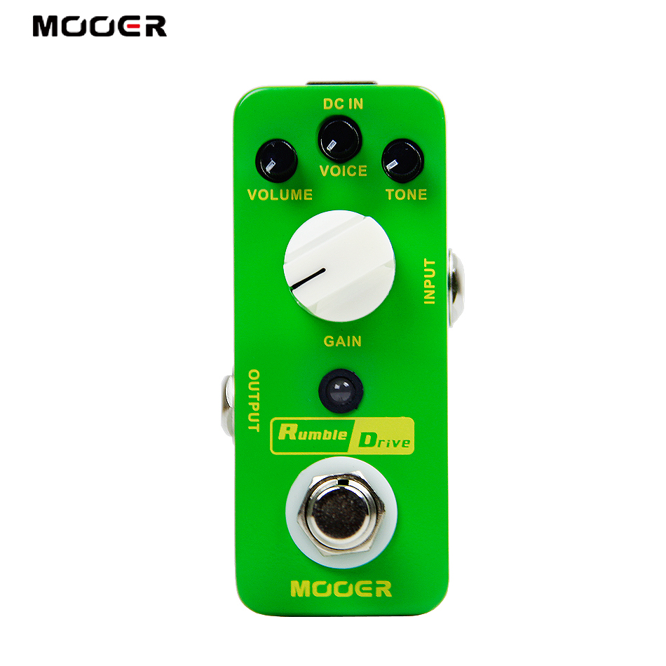 MOOER  Rumble Drive Overdrive Effects Pedal for Electric Guitar rumble roses xx купить спб