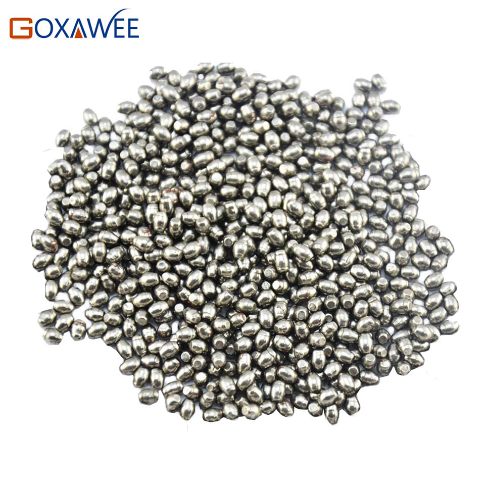 GOXAWEE Jewelry Polishing Tools Polishing Beads with Oval Shape Rotary Tumbler Polishing Beads  Rotary Rock Tumbler Accessories 1pc white or green polishing paste wax polishing compounds for high lustre finishing on steels hard metals durale quality