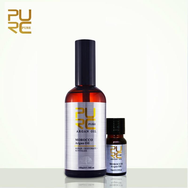 100ml argan oil and 10ml argan oil