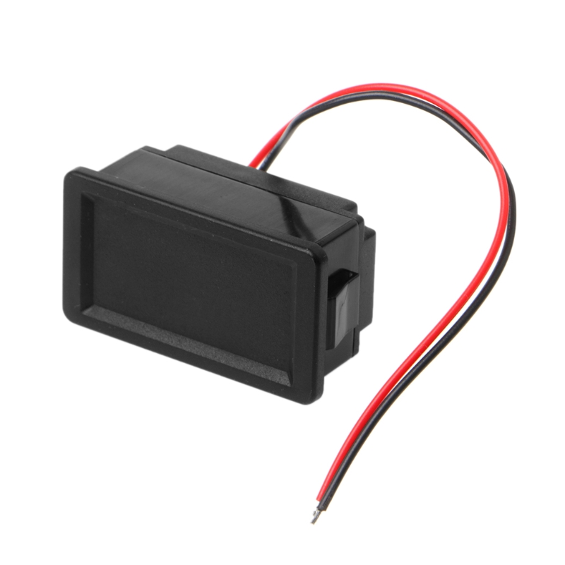 Waterproof 12V Lead-Acid Battery Status Capacity LED Display Indicator Voltmeter