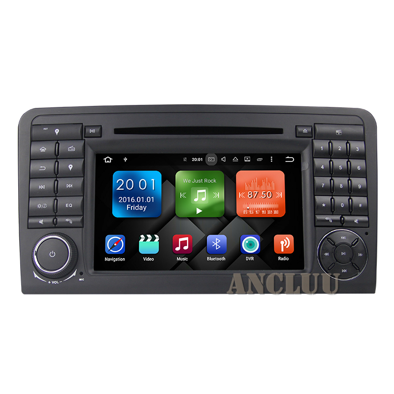 2G RAM Android 9.0 Car DVD Player for <font><b>Mercedes</b></font>/Benz <font><b>ML</b></font> GL class W164 ML350 ML450 ML500 X164 G320 GL350 Car GPS stereo headunit image