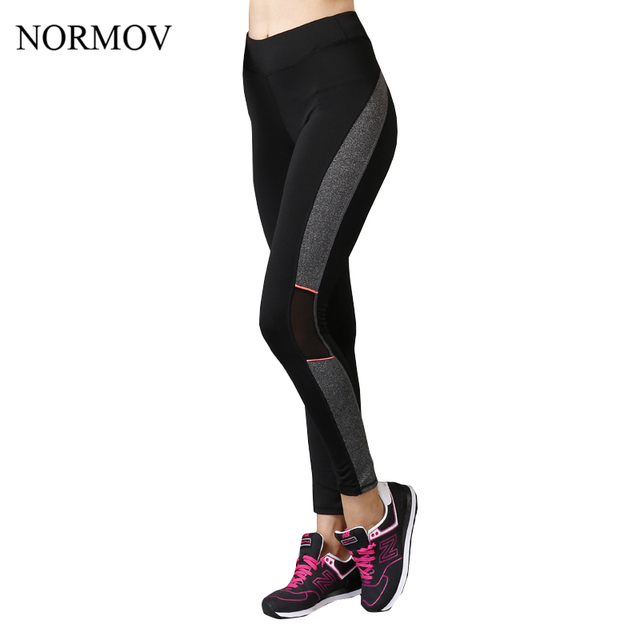 NORMOV S-XL Workout Black Leggings Women Activewear Jeggings Summer Adventure Time Plus up Legging Super Soft Legins