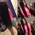 5 Шт./лот 7А Класс Перуанский прямые волосы 5 пучки Перуанский Девственница волосы прямые Необработанные человеческие волосы соткать Оптовая Цена