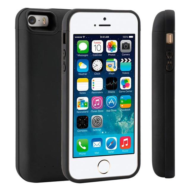 1f24469d33b CASEWIN Battery Charger Case For iPhone SE 5SE 5 5S Case 4000mAh Power Bank  Battery Charging Case Powerbank Charger Case Fundas-in Battery Charger Cases  ...