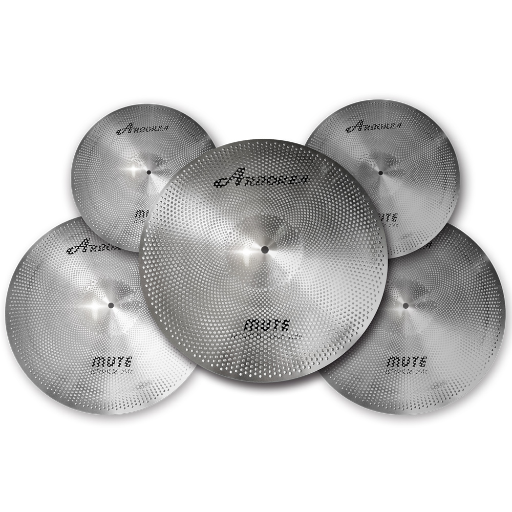 Arborea Mute cymbal set 4 pcs 13