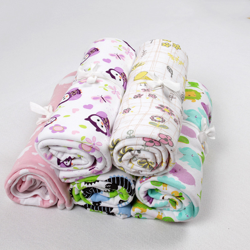 Newborn baby blanket winter autumn kids thick cotton blanket,blankets for bed sofa infantil ,Soft Baby Swaddling Blanket Infant