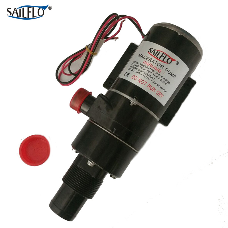 Sailflo FL-65A 12V DC 49.2 L 13gpm wastewater treatment sewage Macerator pump technologies in wastewater treatment