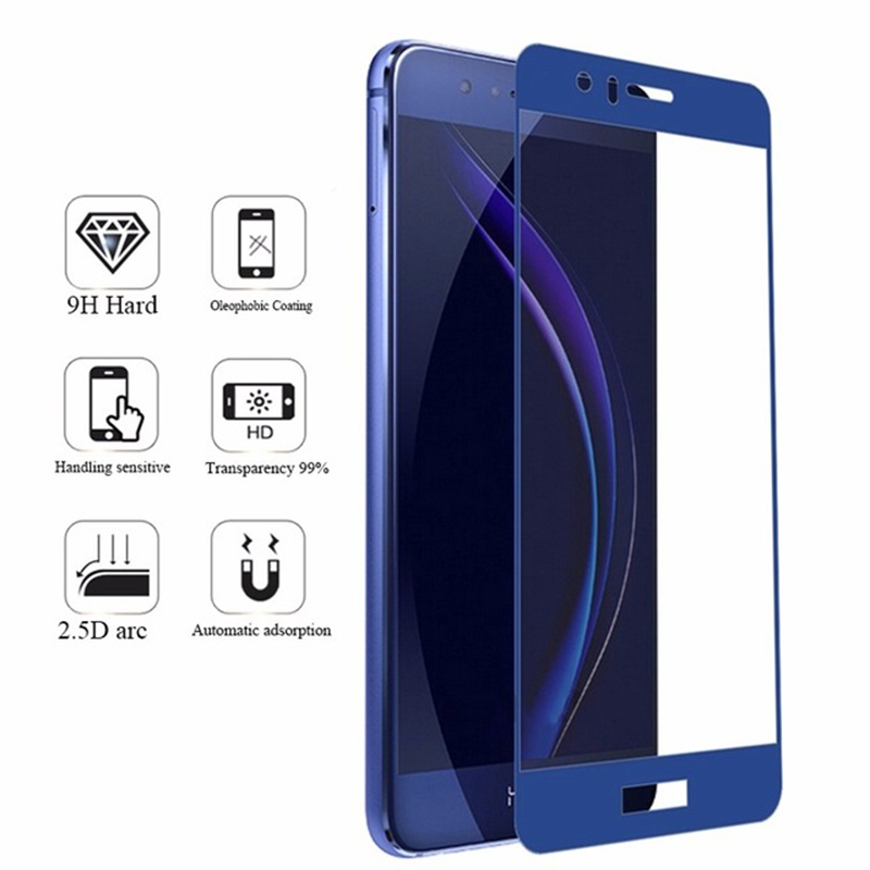 Image 5 - Full cover honor 9 lite protective glass honor 9 8 10 on the for huawei 8lite 9lite screen protector tempered glass honor light-in Phone Screen Protectors from Cellphones & Telecommunications