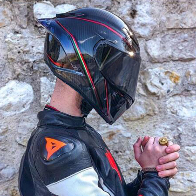 Pista Motorcycle Helmet Full Face Helmet Moto Sport Racing Helmet Kask DOT Casco Moto Motocross Off Road Touring