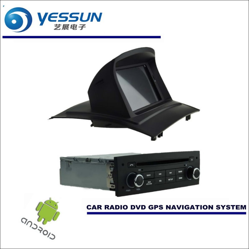 YESSUN Car Android Navigation System For Renault <font><b>Megane</b></font> II <font><b>2</b></font> 2002~2009 - Radio Stereo CD <font><b>DVD</b></font> Player <font><b>GPS</b></font> Navi BT HD Multimedia image