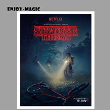 Home Decor Canvas Poster Stranger Things 2 Season Retro Painting Wall Art Modern Picture Panel Print Unframed