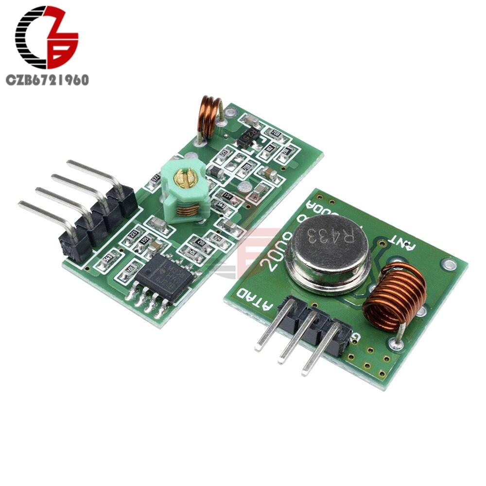 DC 433 MHz RF Superheterodyne Wireless Receiver Modul Board für Arduino